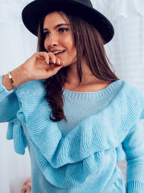Sweter JENIFFER TREND baby blue