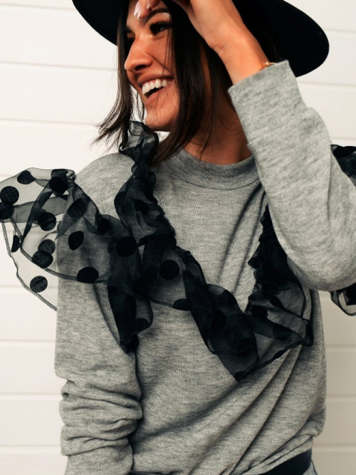 Bluza ACAPULLCO lifestyle GRAY
