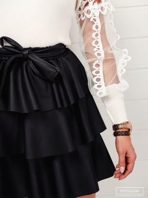 Spódnica ROSETTE black