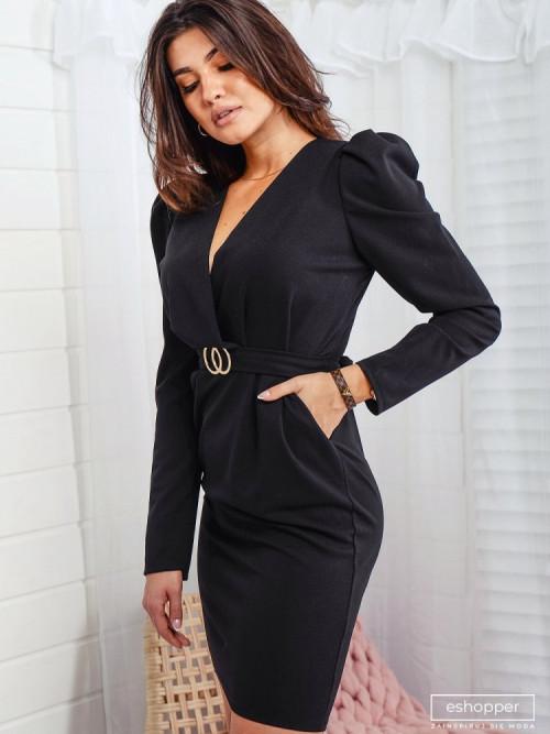 Sukienka ELEGANCE PENCIL black