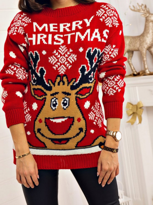 Sweter XMAS Lifestyle RED