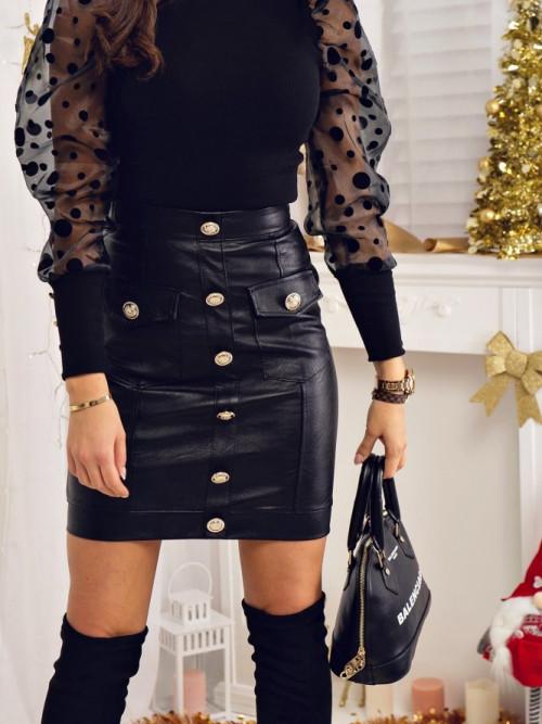 Spódnica CANDY LEATHER elegance