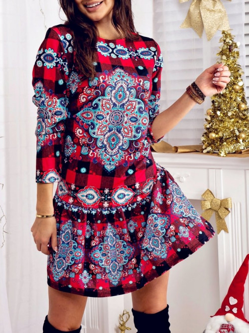Sukienka DONNA Xmas