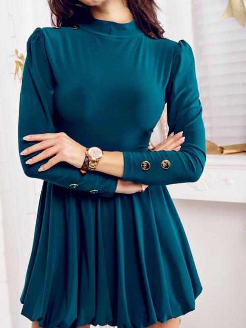 Sukienka JADORE Butelkowa zieleń