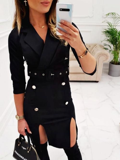 Sukienka MILANNO elegance BLACK