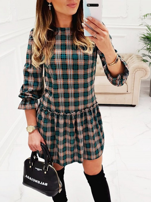 Sukienka BELISSIMA Elegance GREEN