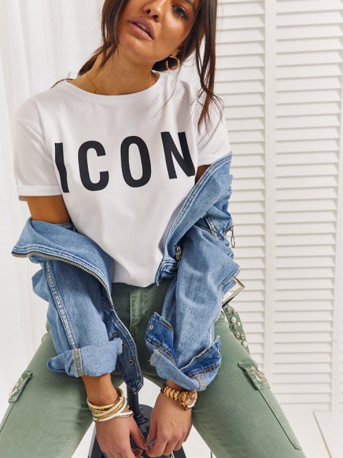 Tshirt ICON BASIC streetwear WHITE