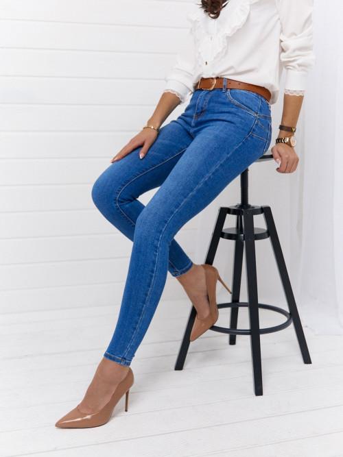 Spodnie DENVER SKINNY CLASSIC + pasek