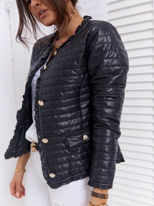 Kurtka MALCOLM Elegance SPRING BLACK