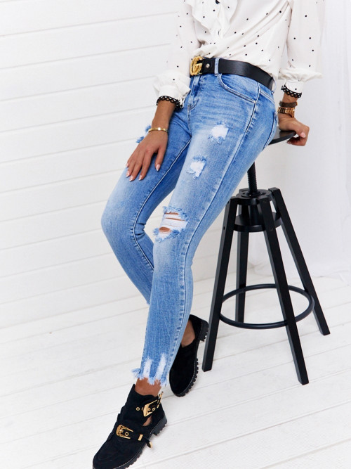 Spodnie BORETTO DENIM ripped
