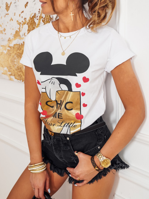 Tshirt MICKEY Chic white
