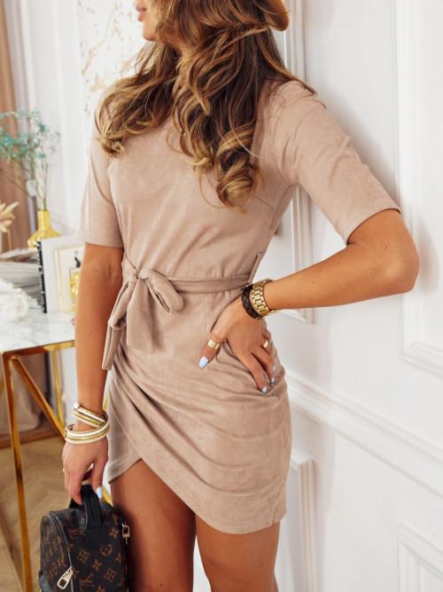 Sukienka PRETTY MARCELLO nude beige