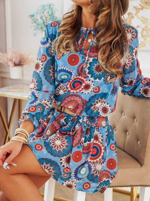 Sukienka MORANTE FUTURE blue