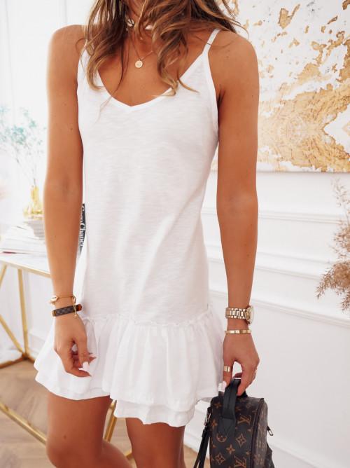Sukienka VENEZIA BASIC white