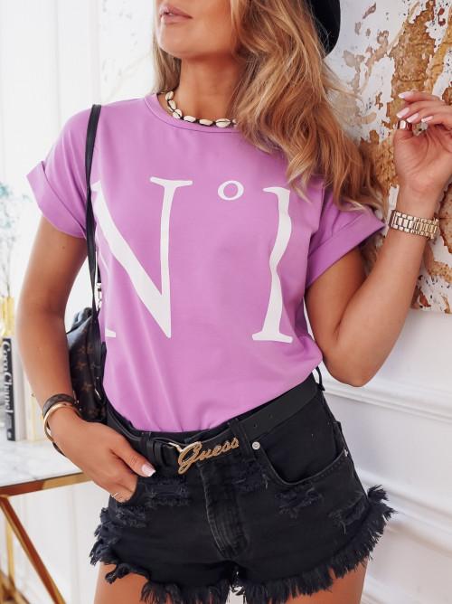 Tshirt NO. 1 sicilia fiolet