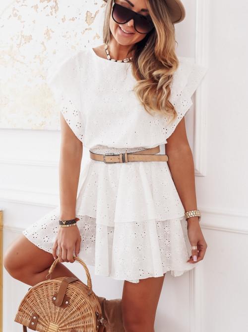 Sukienka FEELIA BOHO ażur pretty