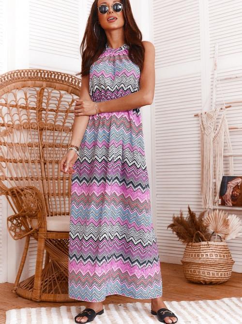 Sukienka COLARES MAXI summer MAXI FIOLET
