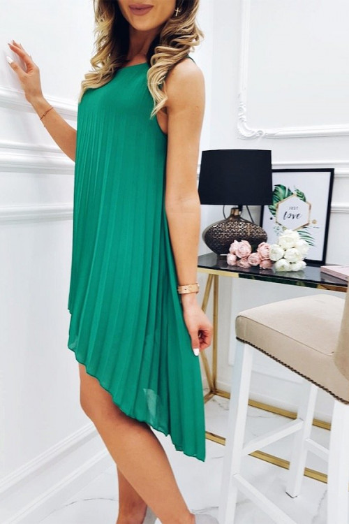 Sukienka PLISOWANA ASYMETRYCZNA Valentina
