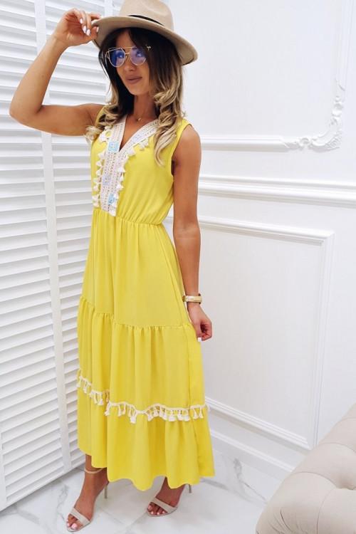 Sukienka BOHO COLLOR SUMMER