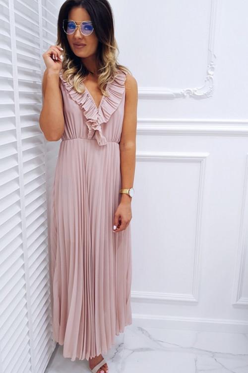 Sukienka PRESTIGE COCO ROUGE Maxi