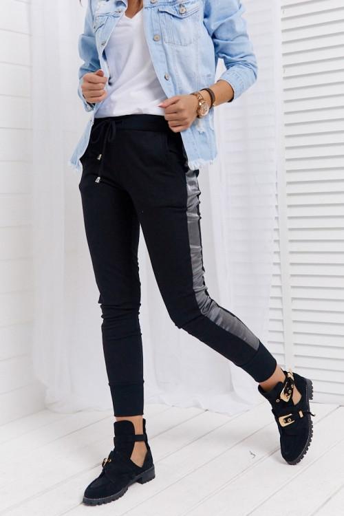 Spodnie LIFESTYLE BLACK pumpy