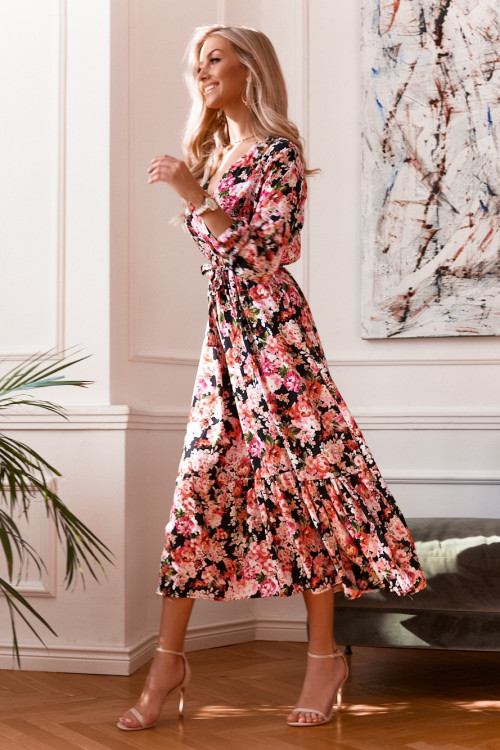Sukienka EMMA FLOWERS maxi