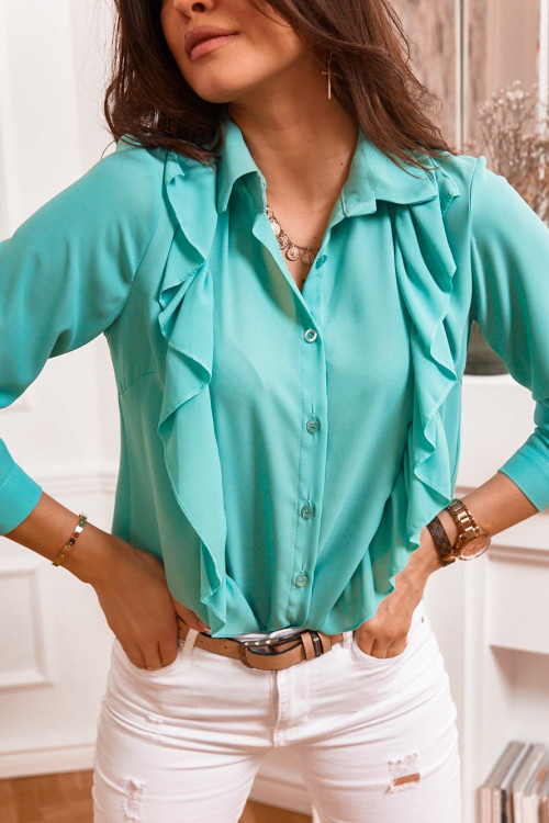 Koszula KYLIE elegance mięta