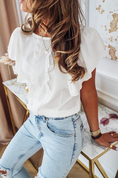 Bluzka VALBENNA elegance white