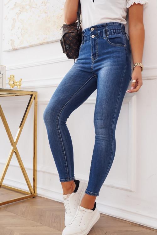 Spodnie SLOUCH SLIM high waist