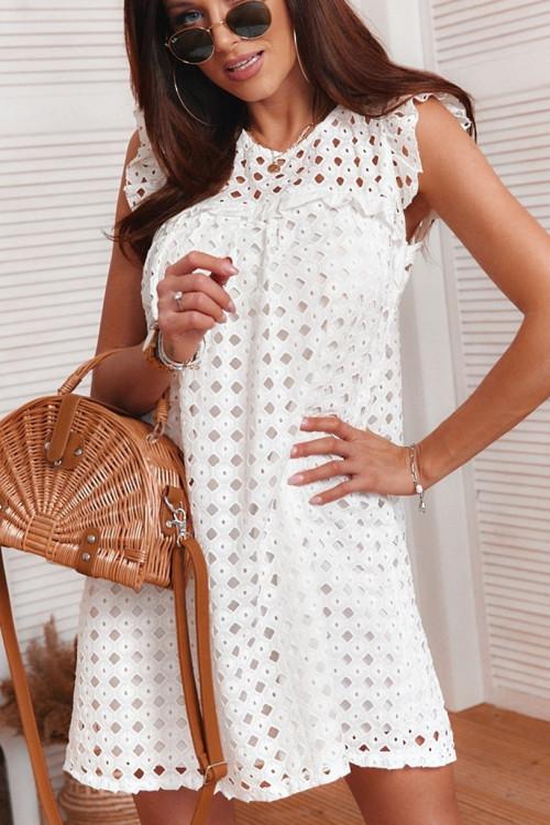 Sukienka w stylu BOHO ażur pretty