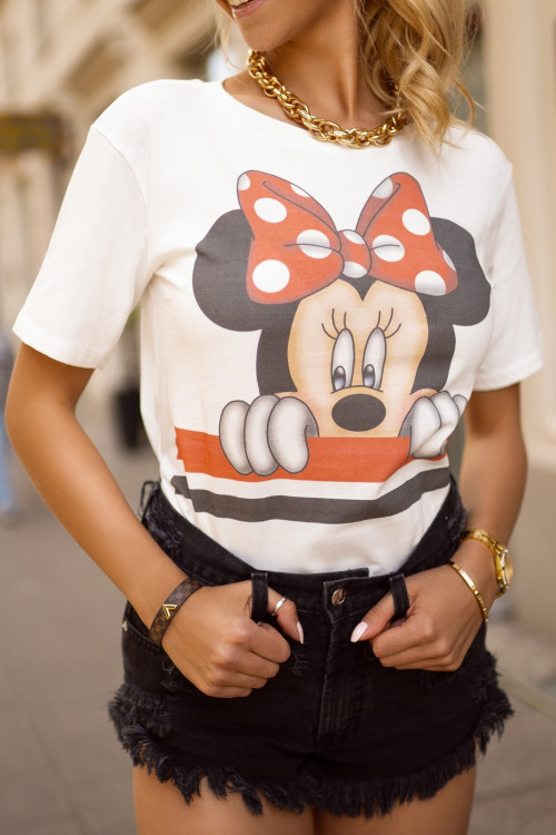 Tshirt MICKEY lifestyle red