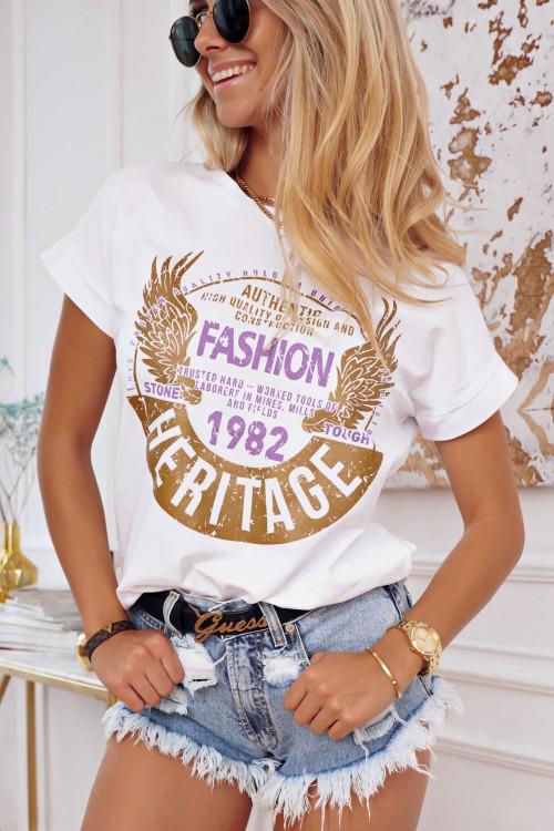 Tshirt HERITAGE white