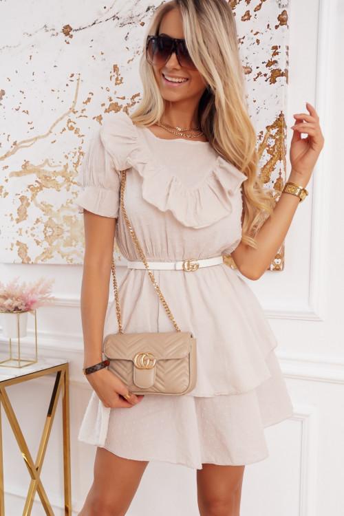 Sukienka CALBENNO pretty beige