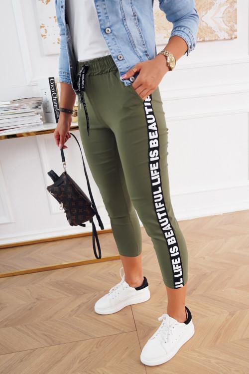 Spodnie COSTA STREET khaki