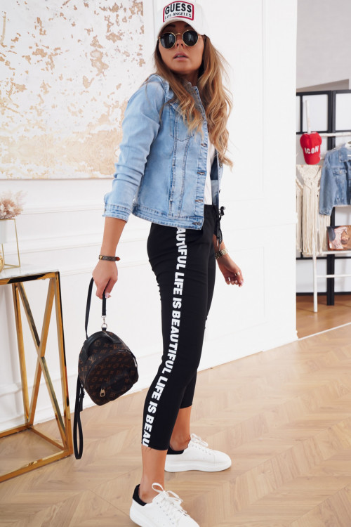 Spodnie COSTA STREET black