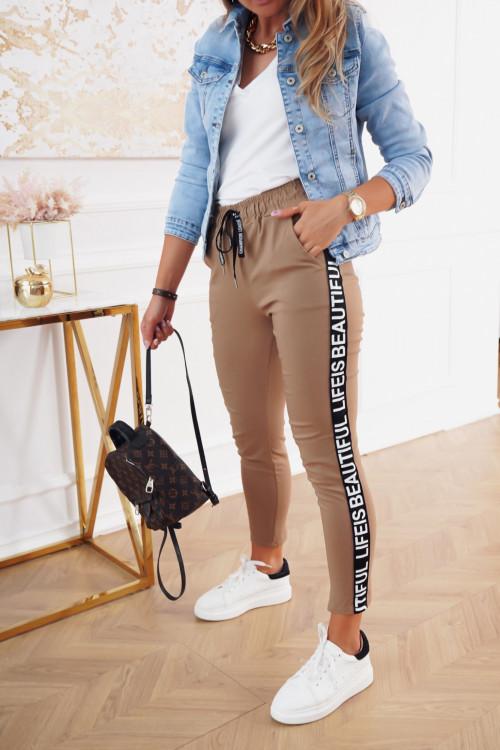 Spodnie COSTA STREET beige