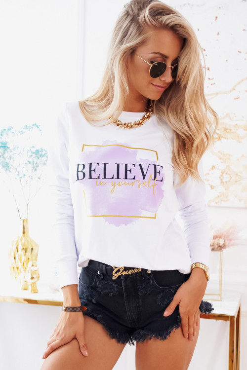Bluza BELIVE SUMMER white