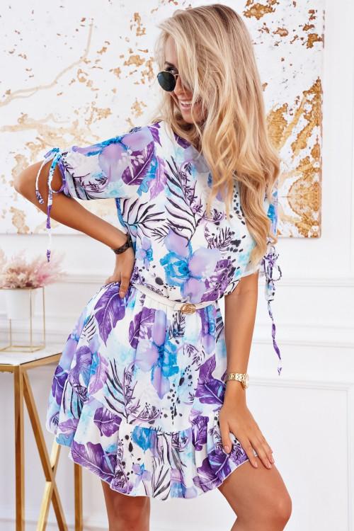 Sukienka Sao Paulo SUMMER LOOK fiolet