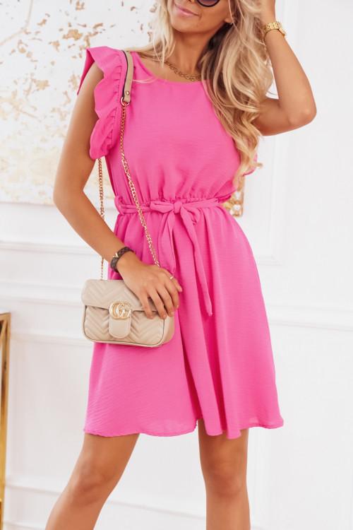 Sukienka LIMEA MOTYLEK pink