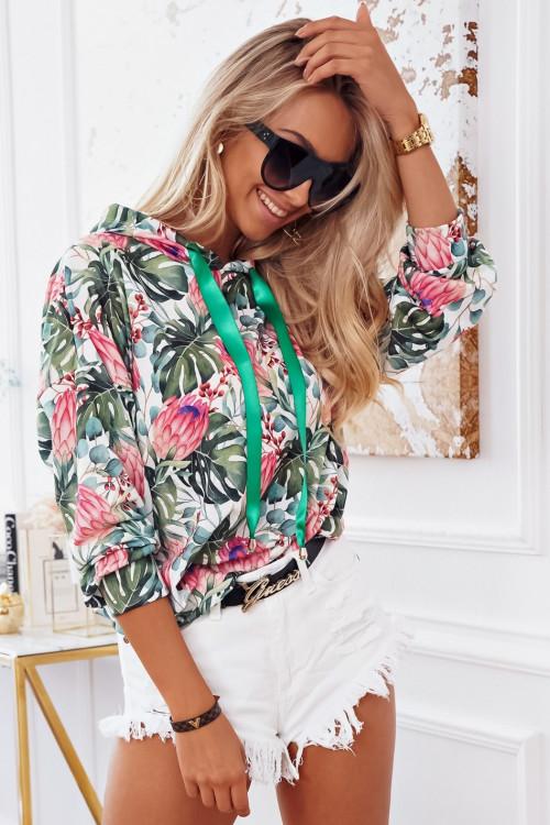 Bluza COSTA FLOWERS SUMMER hoodie