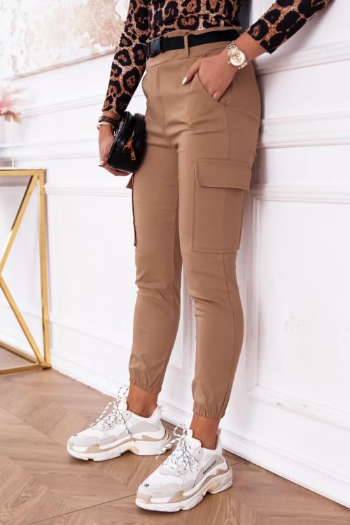 Spodnie AGNES HIGH WAIST pumpy