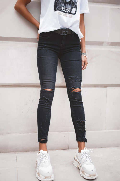 Spodnie FIORENCE DENIM BLACK skinny