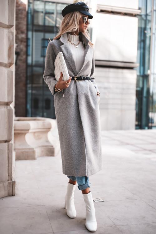 Płaszcz CLASSIC SIMPLOO minimalistyczny