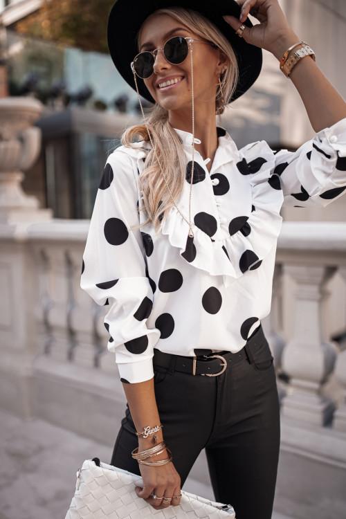 Koszula DESTINEE PRETTY white