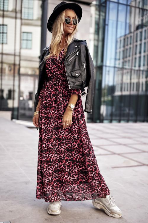Sukienka MICAELLA PANTERKA maxi pink
