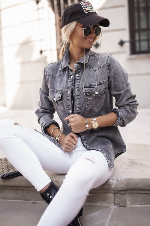 Koszula JEANSOWA DALLAS DENIM jeans