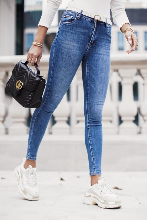 Spodnie CLASSIC HIGH WAIST rurki