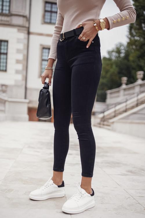 Spodnie VASCITA CLASSIC BLACK slim