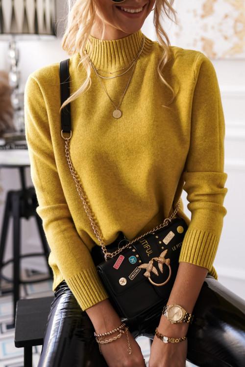 Sweter AMARILLO CLASSCI limonka