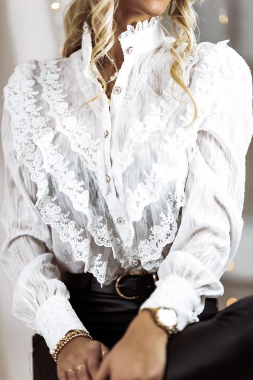 Koszula PARIS KORONKA boho elegance
